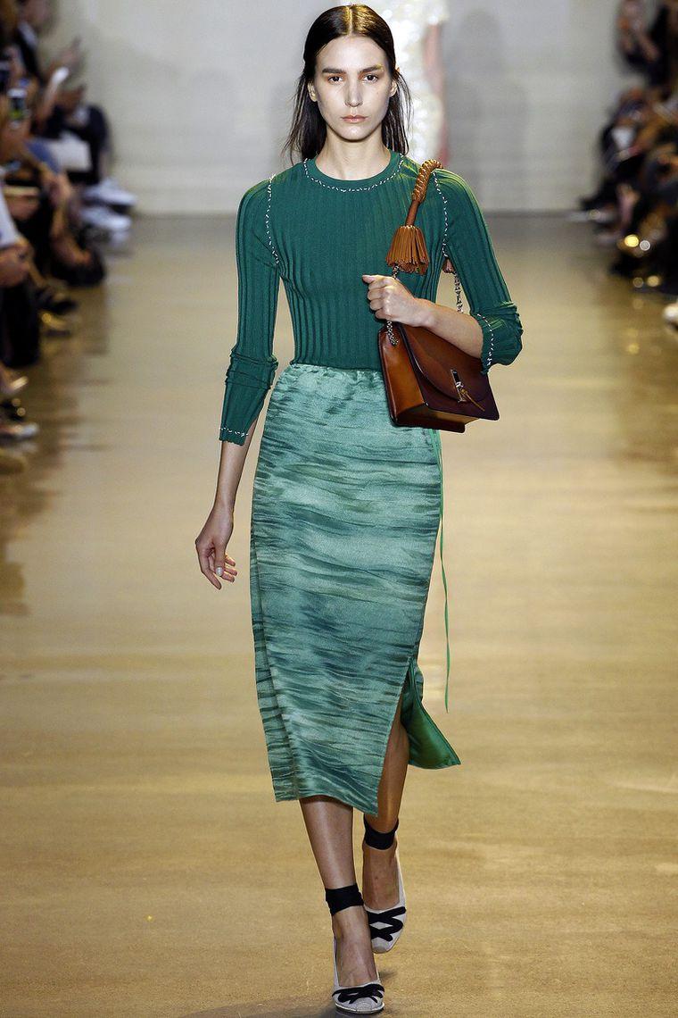 Модные оттенки зеленого