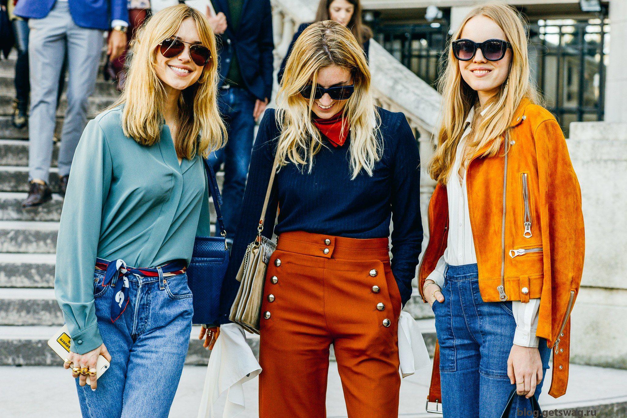 Модный стиль одежды хиппи