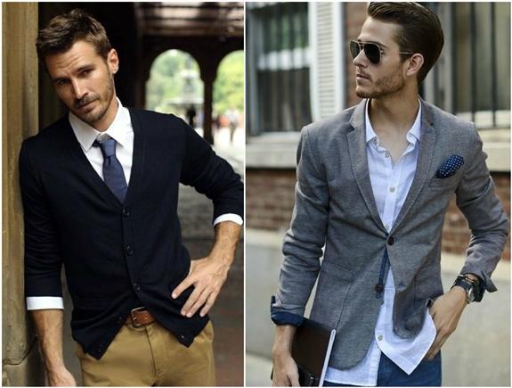 Мужчины в пиджаках