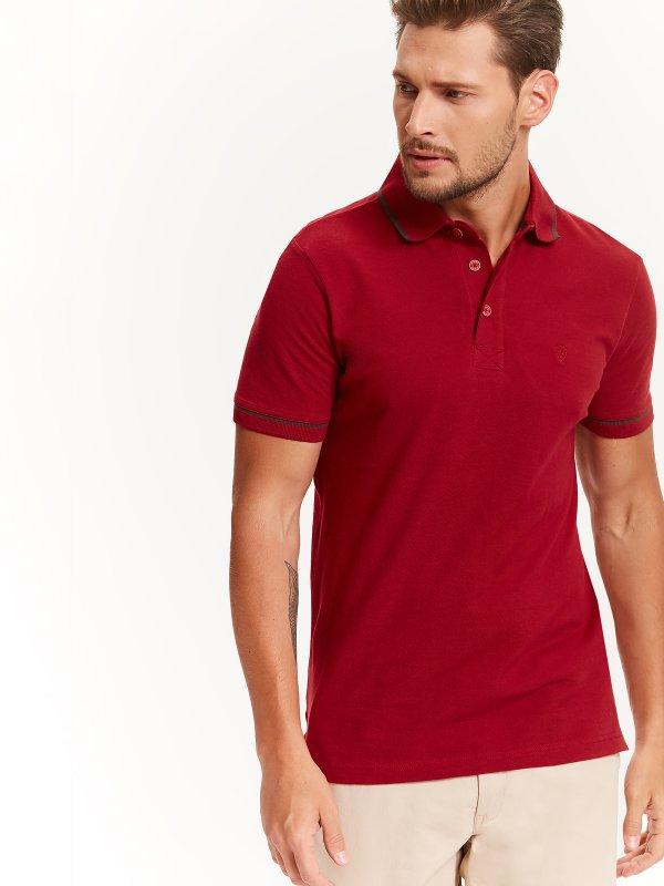 Мужские футболки поло красная