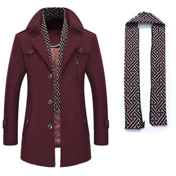 Мужское практичное пальто