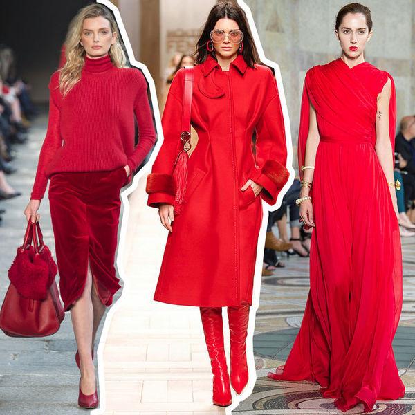 Образы в красной одежде