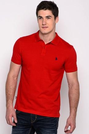 Одежда Polo красного цвета