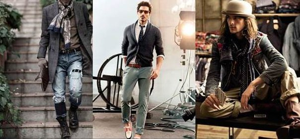 Одежда бохо для мужчин