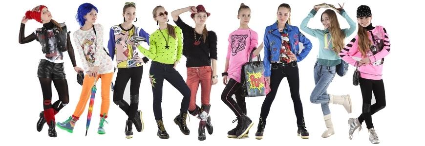 Одежда для подростков девочек
