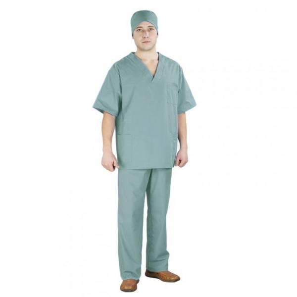 Одежда для работы медика на основе бязи