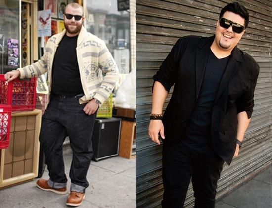 Одежда и аксессуары для полных мужчин