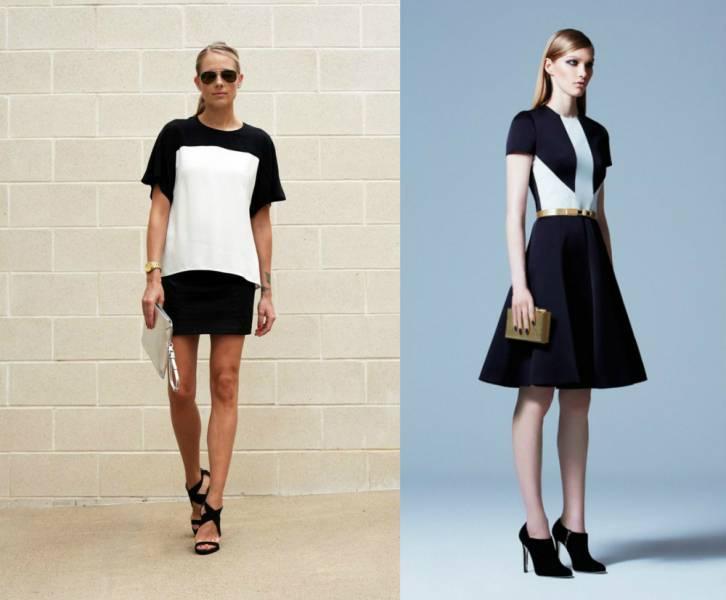 Одежда в стиле минимализм для девушек