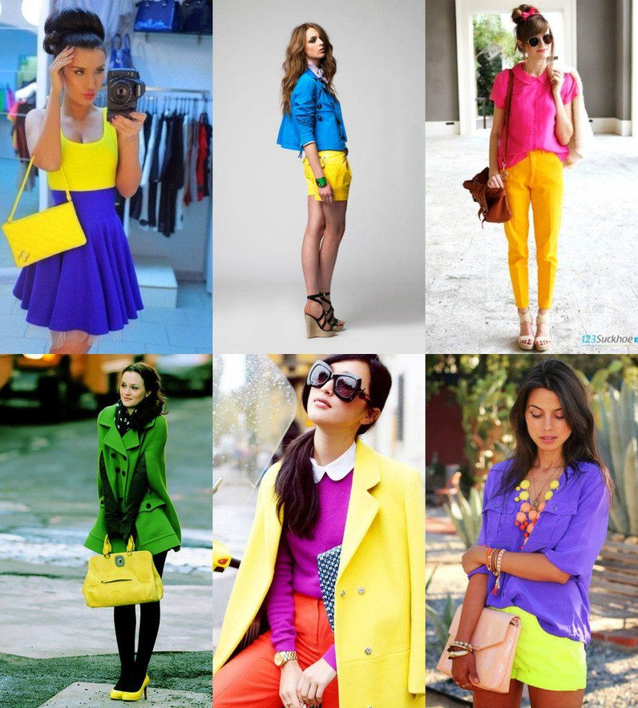 Одежда желтых тонов