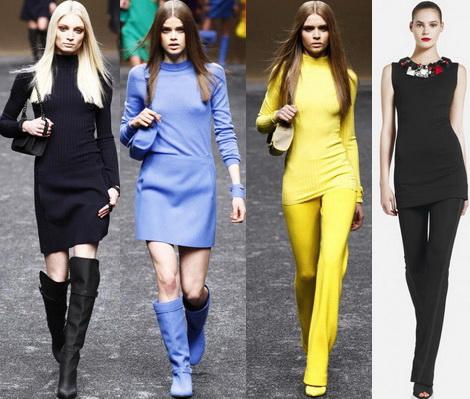 Однотонность современной одежды