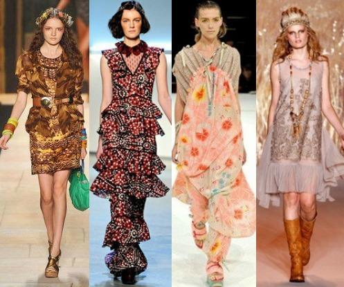 Основные черты этнического стиля в одежде