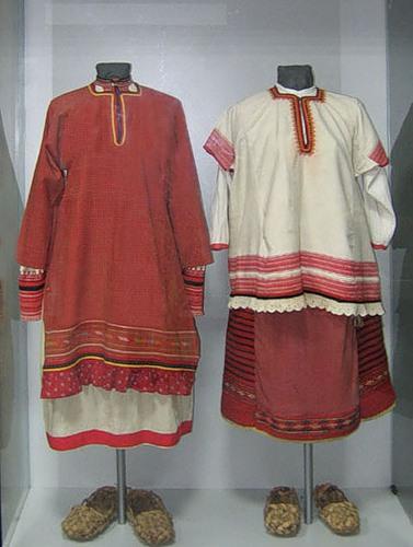 Особенности национальной русской одежды