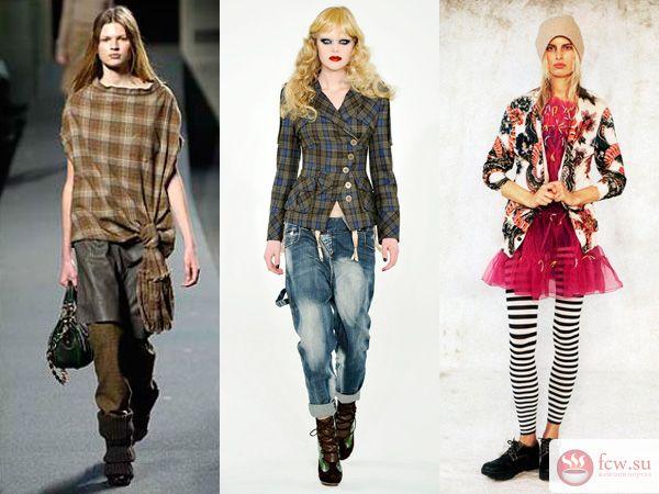 Особенности стиля гранж в женской одежде