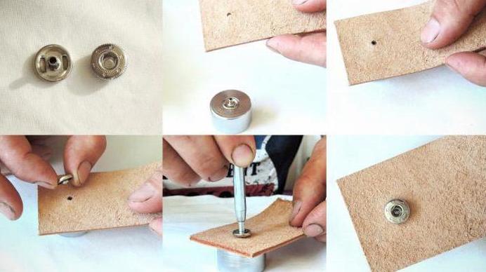 Особенности установки кнопок на одежду