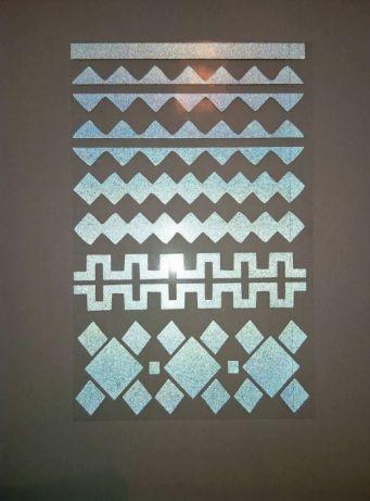 Переводные наклейки для декора ткани