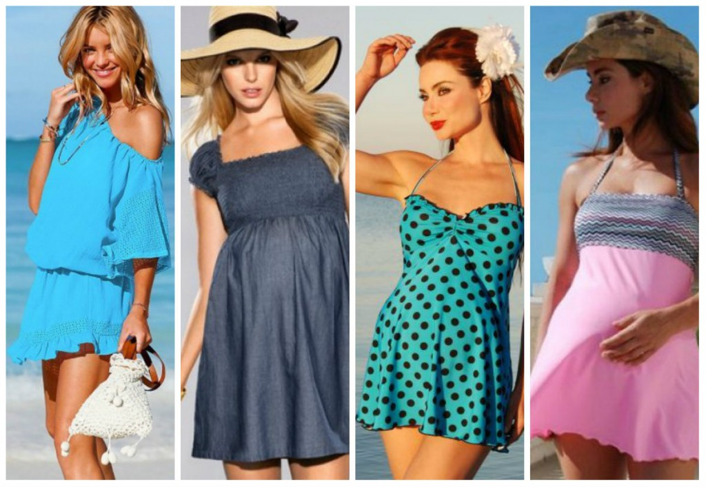 Платья для пляжа