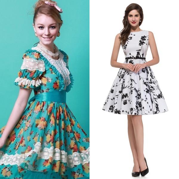 Платья-солнце