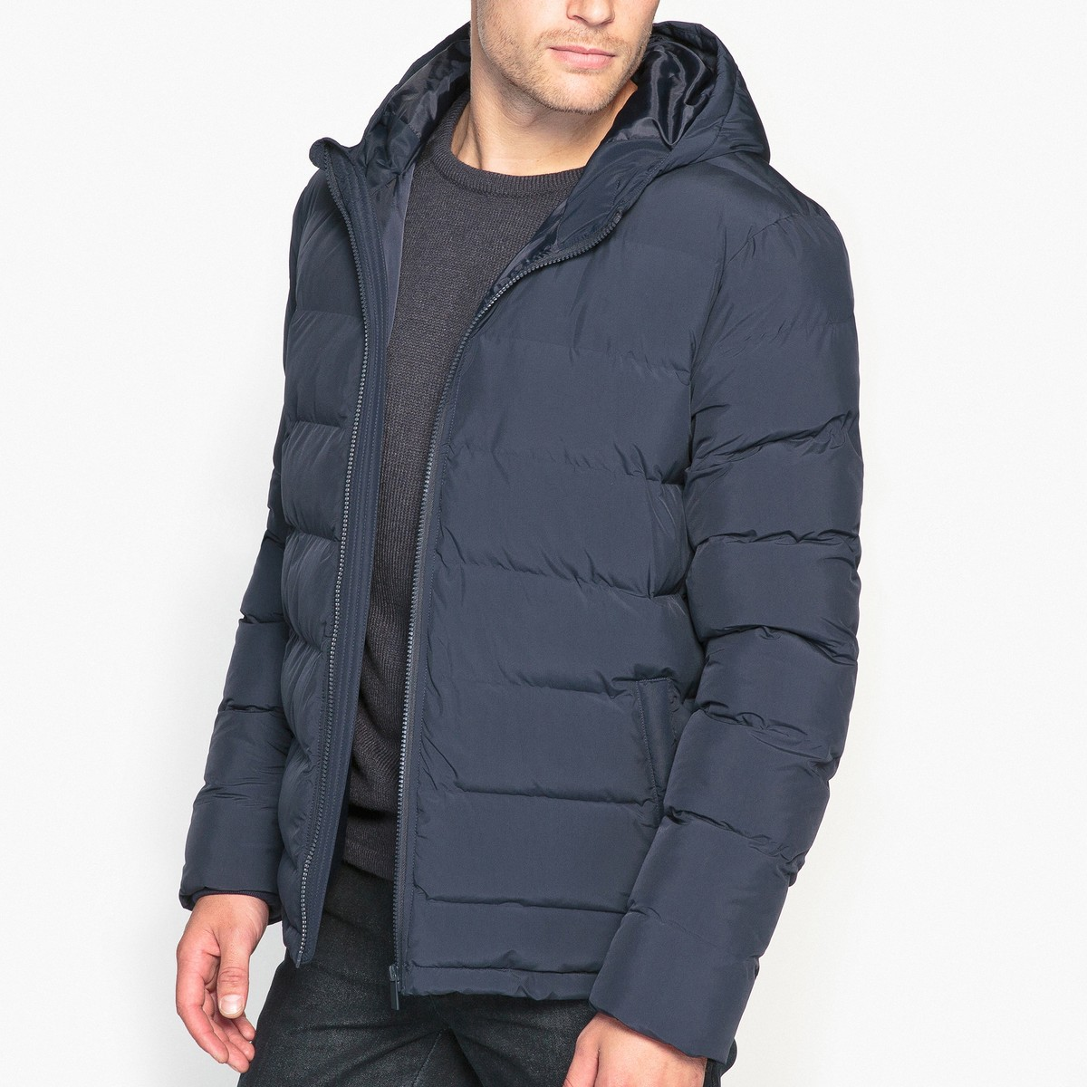 Практичная синняя куртка La Redoute