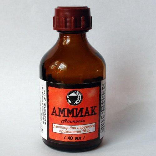 Применение аммиака для чистки