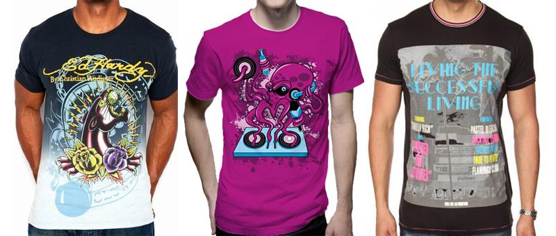 Примеры футболки с шелкографией