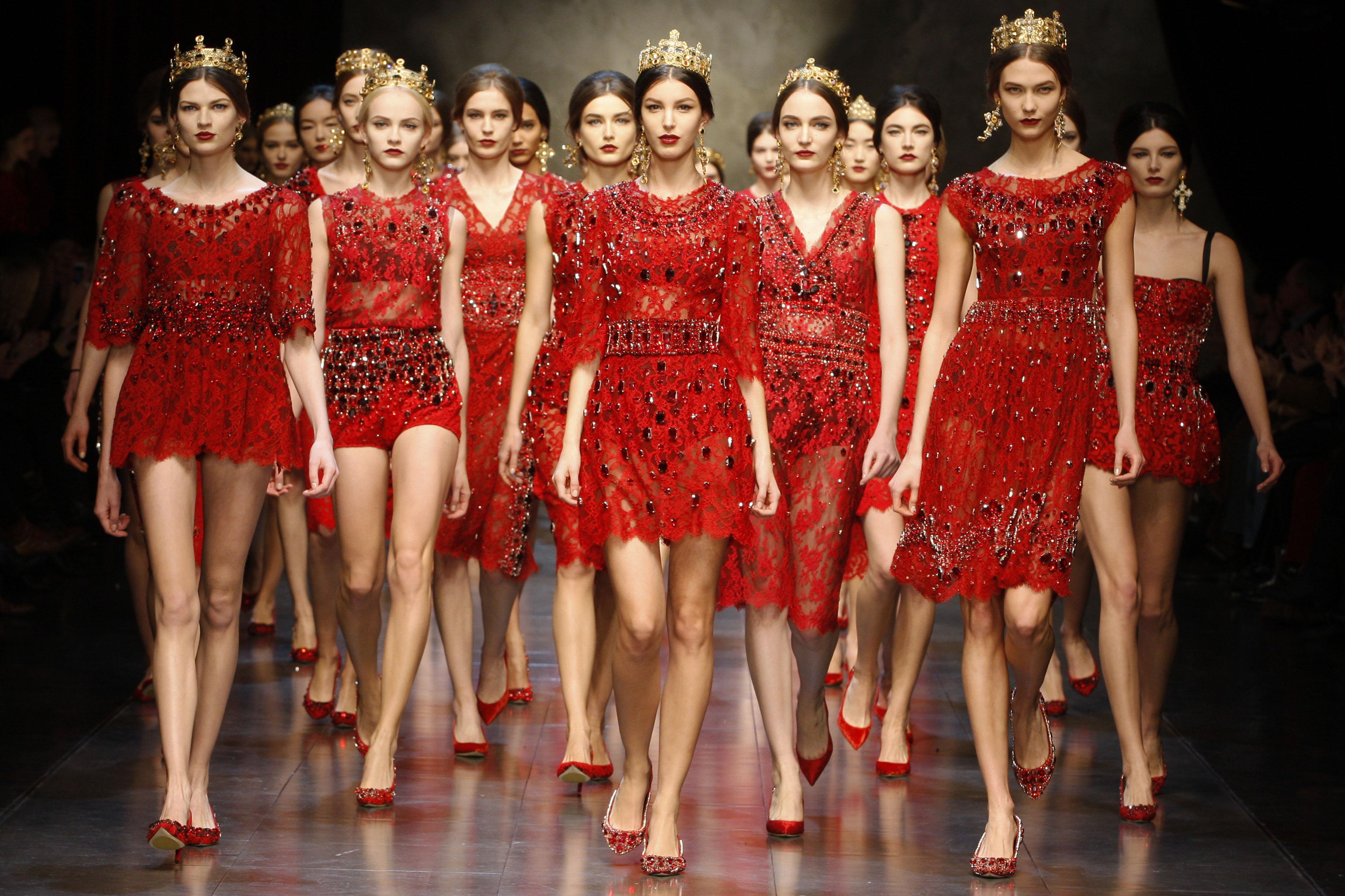 Примеры одежды Dolce&Gabbana