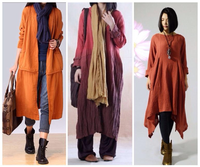 Примеры вязаной одежды