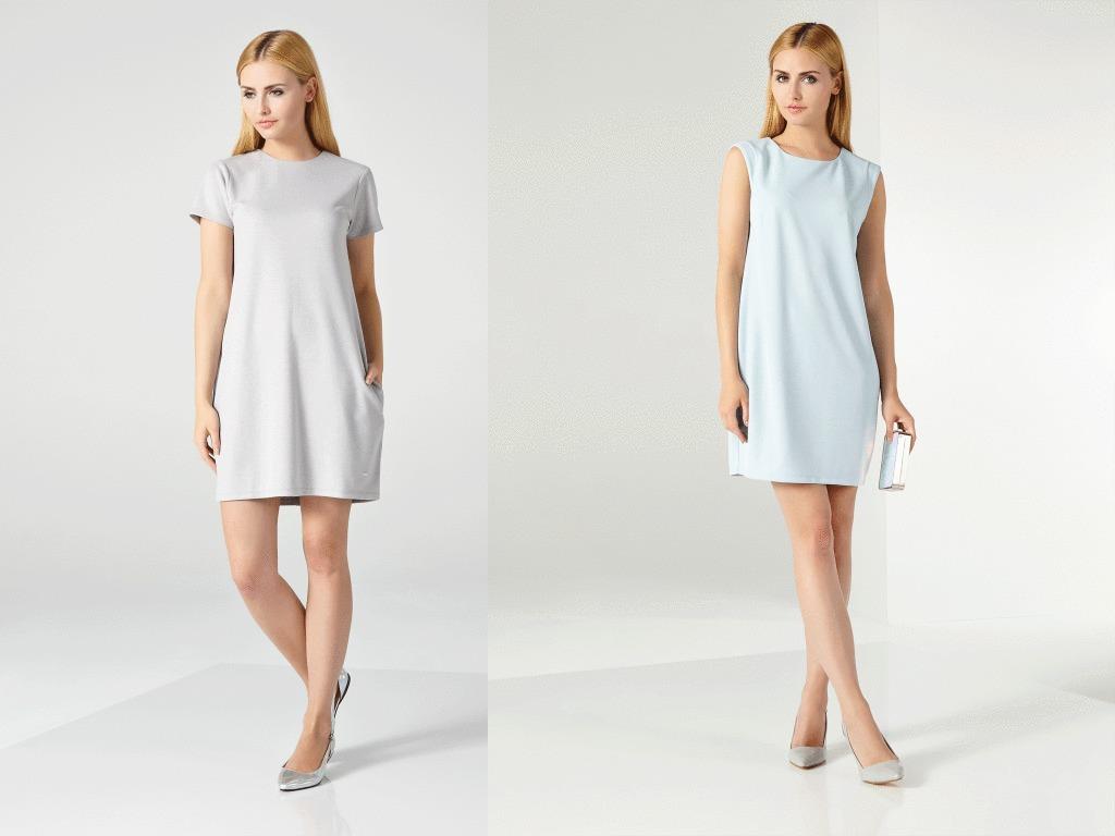 Простые модные платья для улицы