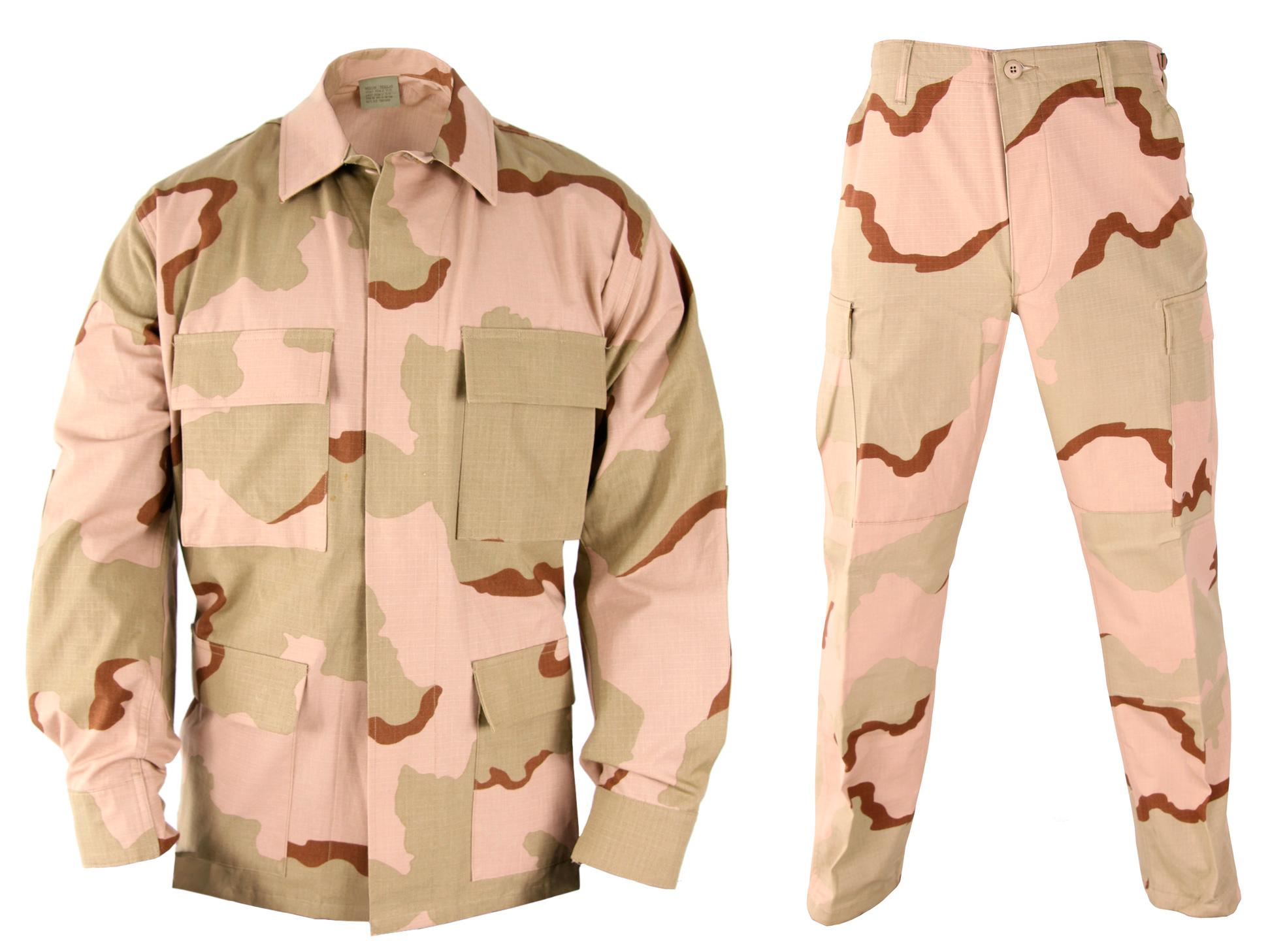Пустынный тип одежды хаки