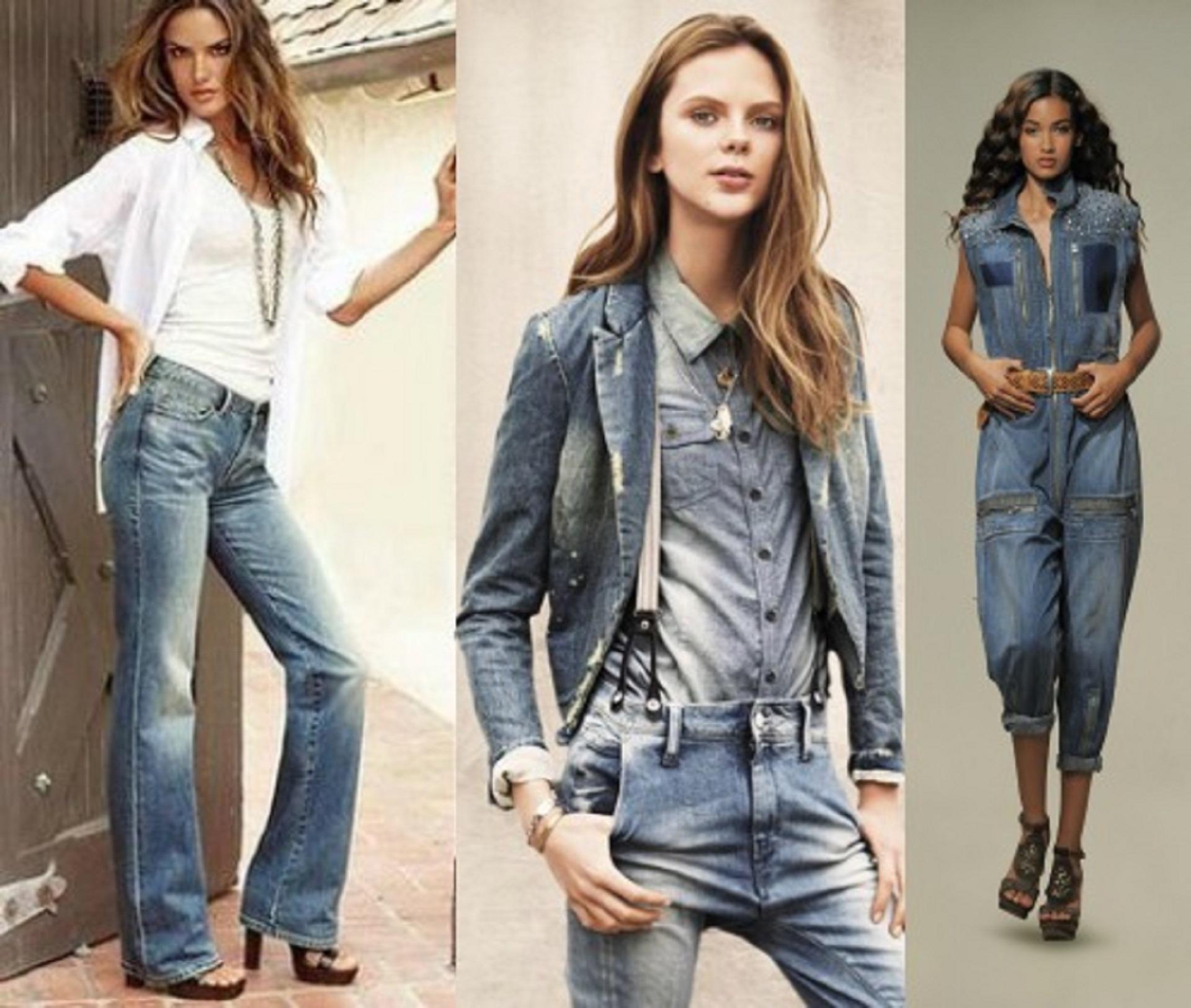 Разнообразие моделей джинсов