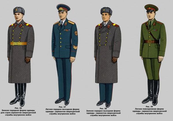 Развитие военной формы