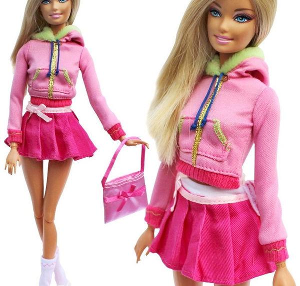 Розовая верхняя одежда