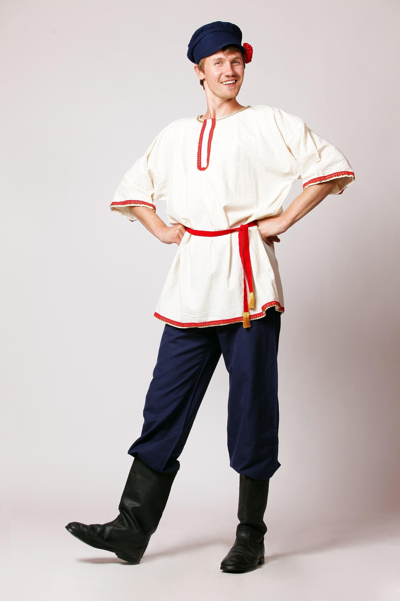 Рубаха и портки для русского мужчины