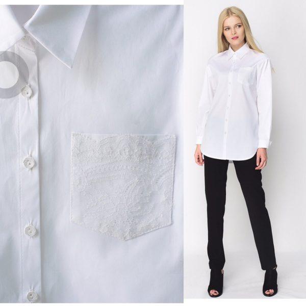 Рубашка из итальянской ткани