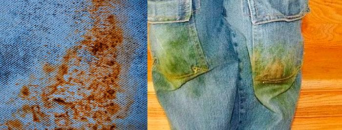 Как вывести пятна ржавчины с купальника без вреда для ткани фото