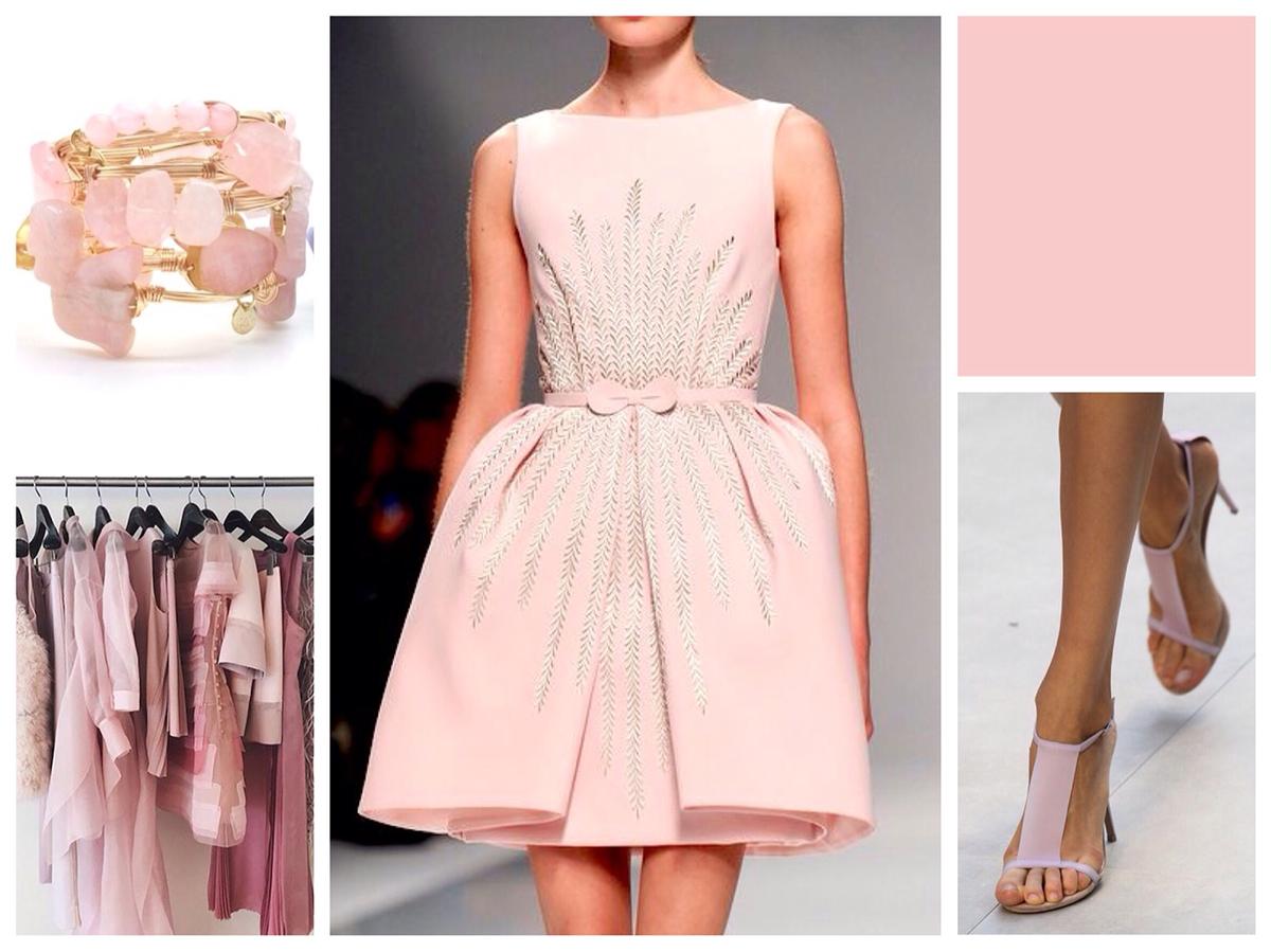 С чем сочетается розовый цвет