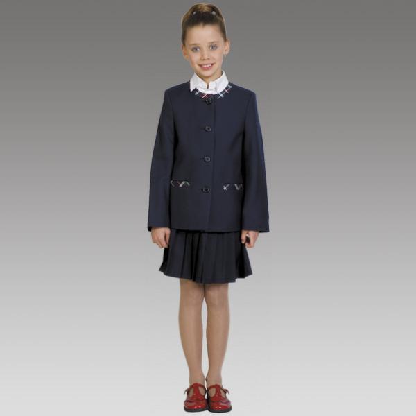 Школьная форма пиджак черного цвета