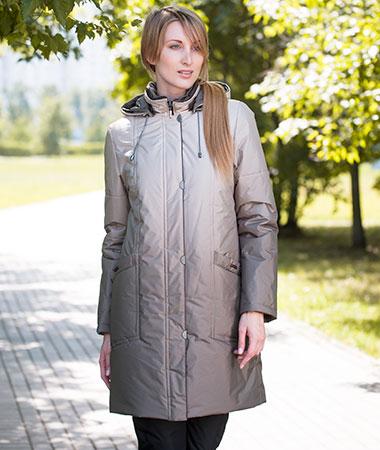 Серая куртка Maritta
