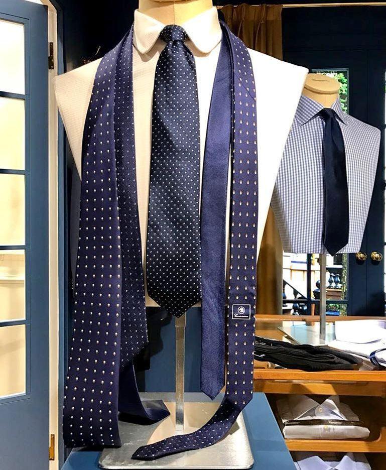 Синие галстуки Camicissima