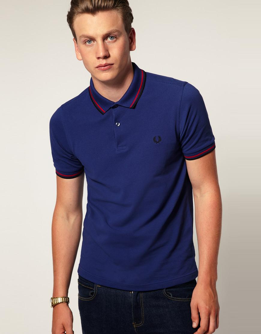 Синяя мужская одежда