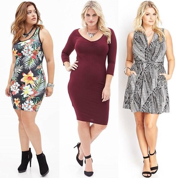 Советы, как правильно выбирать одежду для полных женщин