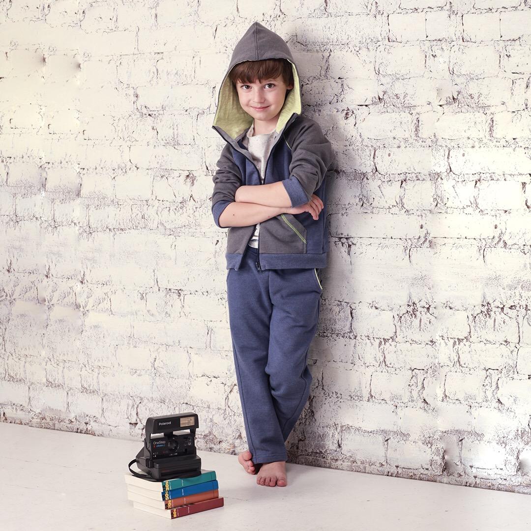 Современный стильный комплект для мальчика