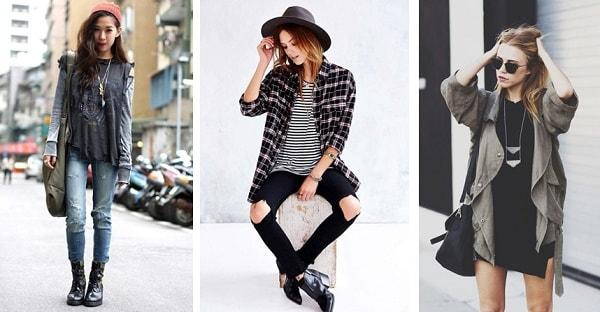 Стиль гранж в одежде - особенности