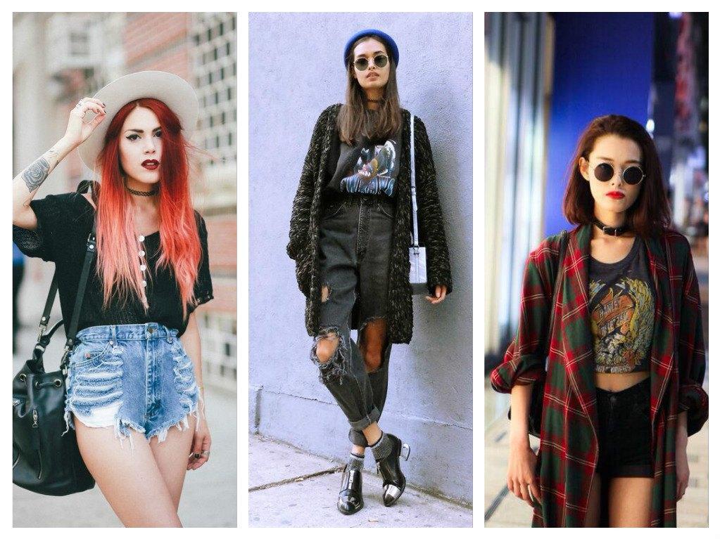 Стиль гранж в одежде - самые модные бунтарские образы