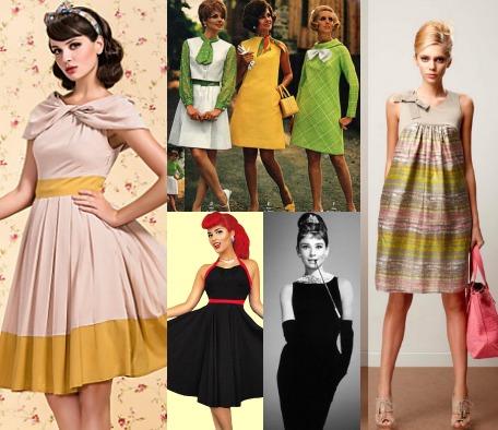 Стиль ретро в одежде разных эпох