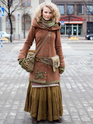 Стильная одежда бохо стиля