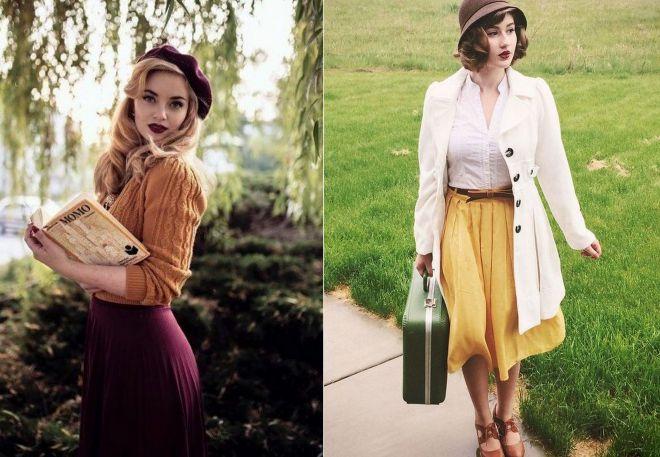 Стильная винтажная одежда