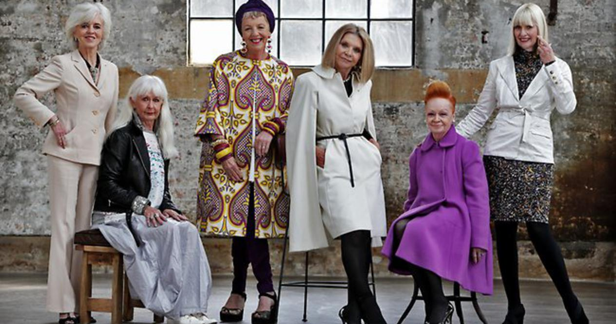 Стильный образ одежды после 50 лет