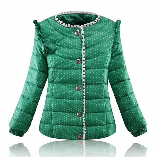 Цветная детская куртка