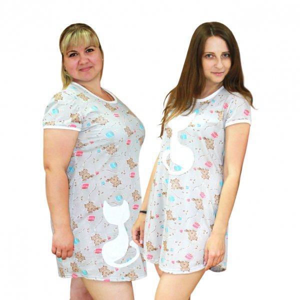 Трикотажные домашний красивые платья