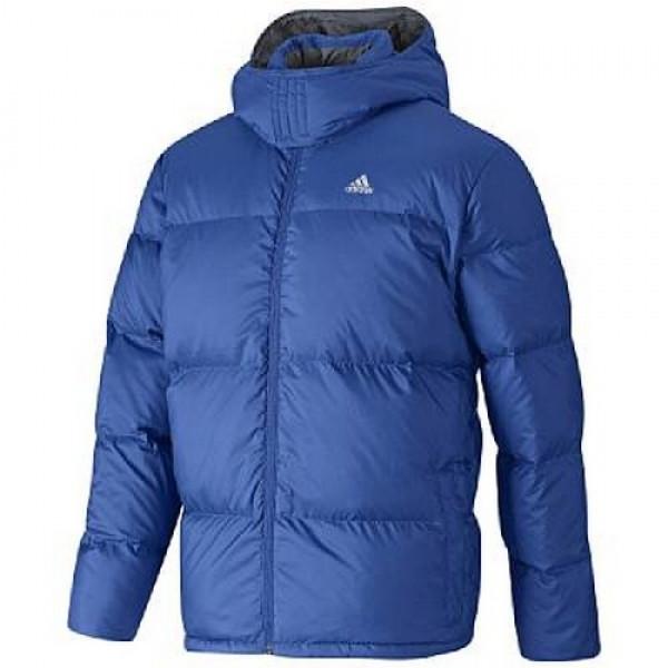 Туристическая синяя куртка